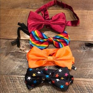 Other - 4 adjustable bow ties